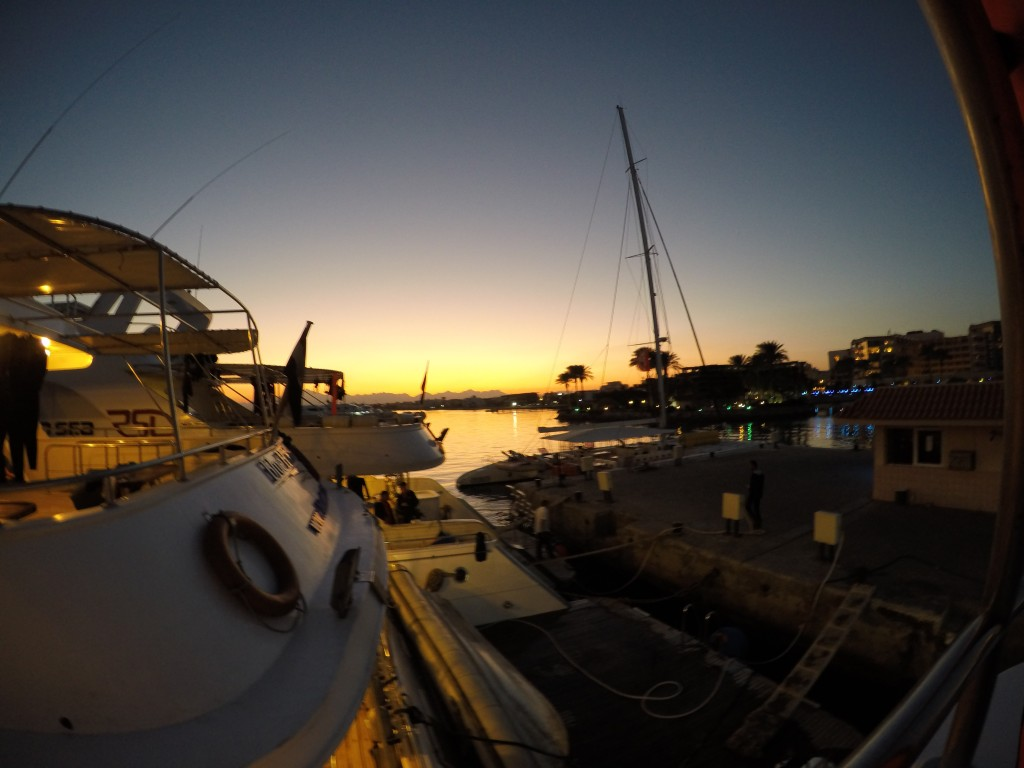 7 Days Sailing And Diving The Red Sea - Sunset In The Harbour