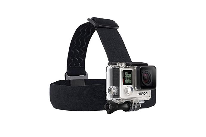 GoPro Head Strap & Quick Clip