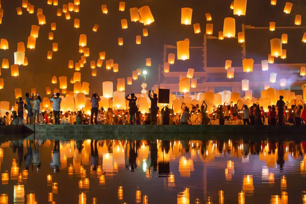 Multicultural Events - Loi Krathong - Bangkok, Thailand