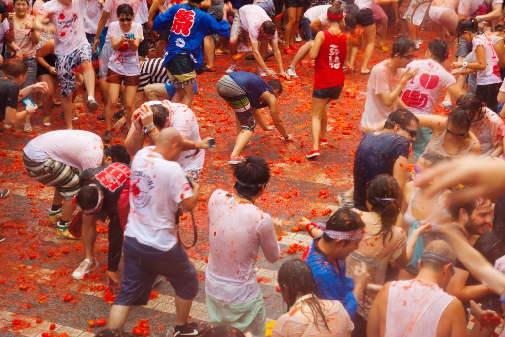 Multicultural Events - La Tomatina - Buñol, Spain