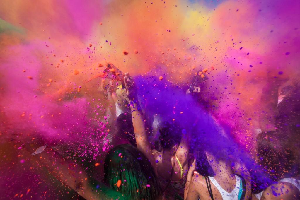 Multicultural Events - Holi Festival - Mathura, India