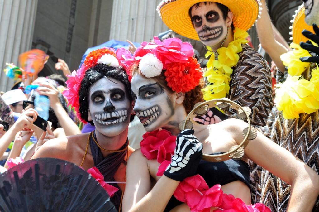 Multicultural Events - Dia de los Muertos - Mexico City, Mexico