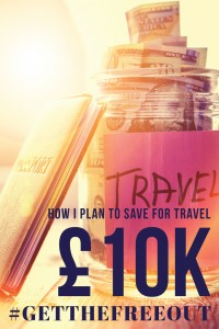 Smash Monotony - How I Plan To Save £10,000 For Travel - Pin It