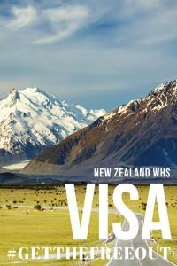Smash Monotony - Pushing 30? Get Your New Zealand WHS Visa - Pin It